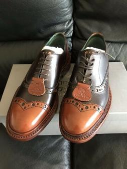 Vivienne Westwood Men PUNCHED Orb Oxford Shoes Size 7US/6UK