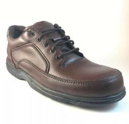 Men Rockport EUREKA K71201 BROWN Lace-Up Oxford Walking Shoe