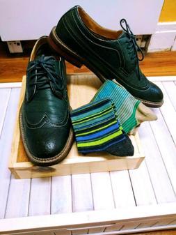 men s 19312 green wingtip oxford shoes