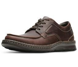 Clarks Men's 26130644 Vanek Apron Brown Oily Leather Casual
