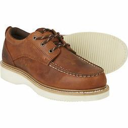 Gravel Gear Men's 4in. Moc Toe Oxford Shoes - Brown
