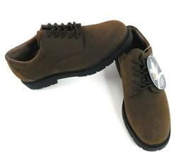 Nunn Bush Men's 9.5 Comfort Gel Dress Oxford Shoes Brown 838