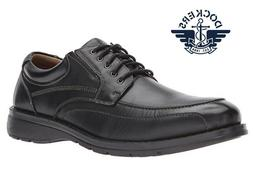 Dockers Men's Barker Oxford; Casual or Dress; Black Leather,