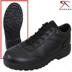 men s black tactical utility oxford shoe