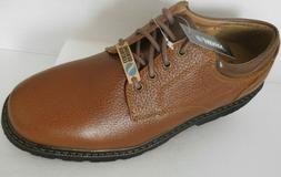 JARMAN Men's Brown Leather Casual Plain Oxford, Shoes~Sizes