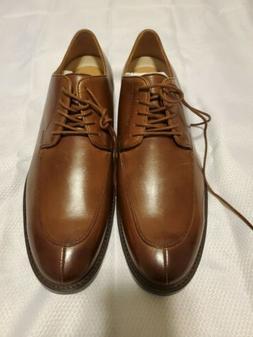 206 Collective Men's Brown Leather Harrison Split Toe Oxford