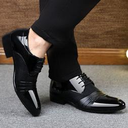 Men's Business Casual Oxford Leather Shoes Formal Dress Part
