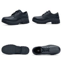Men'S Cade Slip Resistant Oxford Shoes - Steel Toe - Black S