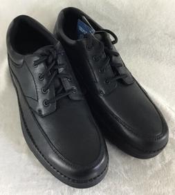 Nunn Bush Men's Cameron Black Leather Casual Walking Shoes 8