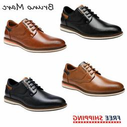 Bruno Marc Men's Casual Fashion Lace Up Oxford Dress Shoes S
