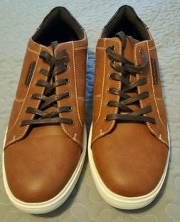 Easy 1973 Men's Casual Leather Fashion Sneakers Oxford Shoes