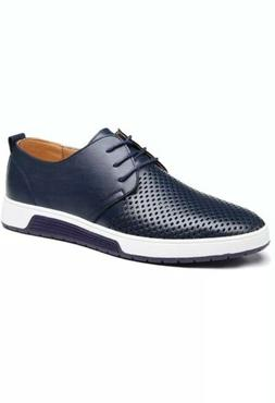 Men's Casual Oxford Shoes Breathable Flat Fashion Sneakers N