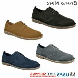 Bruno MARC Men's Casual Shoes Genuine Suede Leather Classic