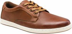 JOUSEN Men's Causal Shoes Leather Fashion Sneakers Oxford Sh