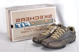 Men's Skechers City Walk Elison Oxford Shoes Brown
