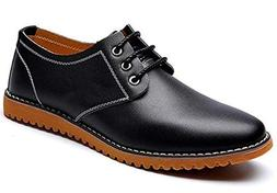 men s classic modern lace up leather