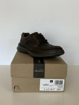 Clarks Men's Cotrell Edge Oxford Brown Oily 19803 Size 7.5M