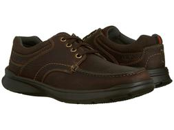 CLARKS Men's Cotrell Edge Oxford Brown Oily Leather