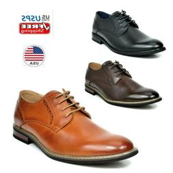 Men's Dress Oxford Dress Shoes Classic Leather Lined Lace Up