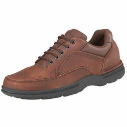 Rockport Men's Eureka Oxford Shoes, Wide Brown 10