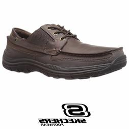 Skechers Men's Expected Gembel Relax Fit Memory Foam Oxford