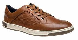 JOUSEN Men's Fashion Sneakers Memory Foam Oxford Brown US SI
