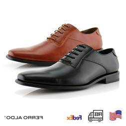 Men's Formal  Leather Lining Oxford Lace-Up Solid Color Danc