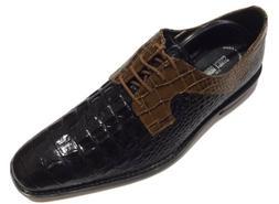 Stacy Adams Men's GARELLI BLACK MULTI Oxford Shoes 25116-009