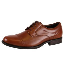 Men's Dockers GARFIELD 90-36452 Tan Lace-up Cap-Toe Oxford S
