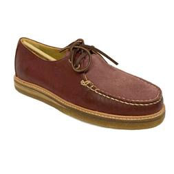 Men's Gold Captain's Oxford Shoes by Sperry - Burgundy