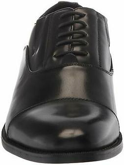 Unlisted by Kenneth Cole Men's Half Lace Up Oxford, Black, S