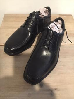 Bostonian Men's Ipswich Apron Oxford Shoes, Black, 11 W