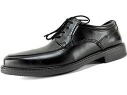 Bostonian Men's Ipswich Apron Oxfords Black Leather Size 8 M