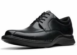 Clarks Men's Kempton Run Black Leather oxfords-shoes