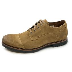 Timberland Men's Kendrick Cap Toe Medium Brown Suede Oxford