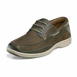 men s lakeside oxford boat shoe brown