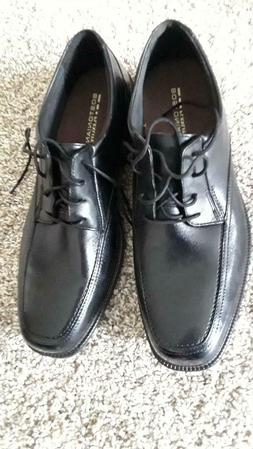 Bostonian Men's Leather Ipswich Dress Shoes NEW Size 12 Blac
