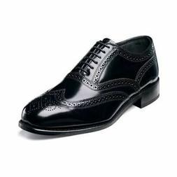 Florsheim Men's Lexington Wingtip Oxford Black 17066-01