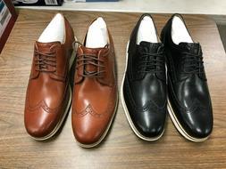 Cole Haan Men's Original Grand Shortwing Oxford Shoe - Black
