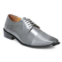 LIBERTYZENO Men's Oxford Dress Shoes Leather Cap Toe Formal