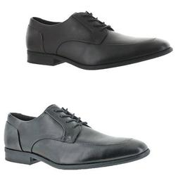 Calvin Klein Men's Rambert Leather Oxford Formal Front Lace
