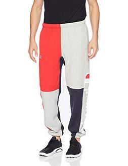 Champion LIFE Men's Reverse Weave Color Block Pant, Navy/Oxf