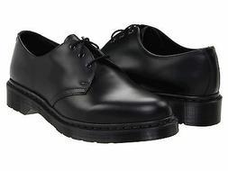 Men's Shoes Dr. Martens 1461 Mono 3 Eye Leather Oxfords 1434