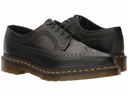 Men's Shoes Dr. Martens 3989 Y/S Leather Wingtip Brogue Oxfo