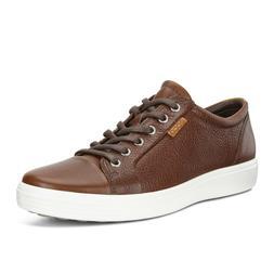 Ecco Men's Soft 7 Lace Fashion Sneaker Leather Comfort Oxfor
