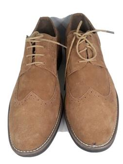 BRUNO MARC NEW YORK Men's Suede Leather Lace Up Oxfords Shoe