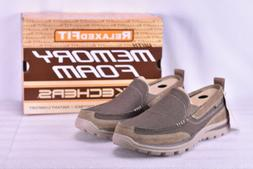 Men's Skechers Relaxed Fit Superior- Milford Light Brown