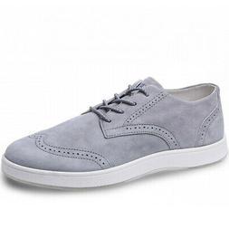 Aureus Men's Supra Oxfords Oxford Shoes Grey 10.5 M