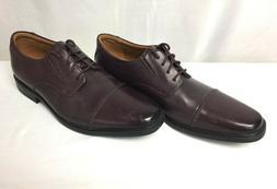 Clarks Men's Tilden Cap Oxford Dress Shoes, Men's 9, 38388 N