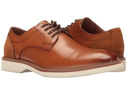 Florsheim Men's Union Plain Oxford Full-grain leather Cognac